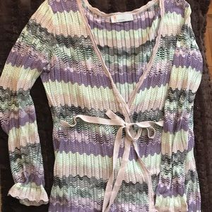 Missoni wrap sweater
